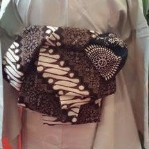 半巾帯の「かわいい結…