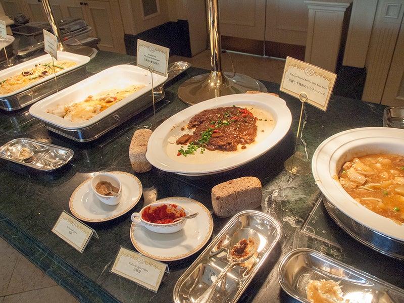 ディズニーランドホテルブッフェの中華料理