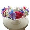 【完成品】トロピカルカラーの花冠セットの画像
