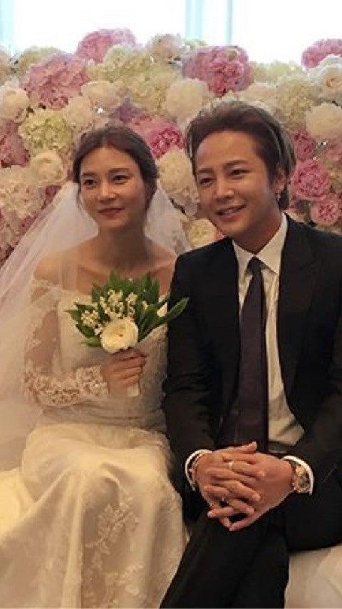 チャングンソク 結婚