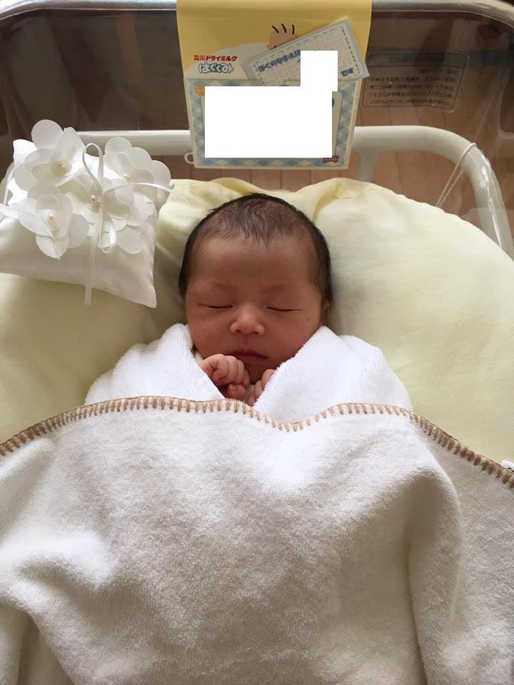 ご出産報告いただきましたー♡♡可愛い写真ありがとうございます!
