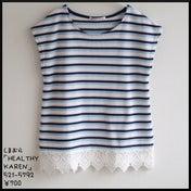 【しまパト】700円の裾レースTシャツ、探していた「HK」花柄スカート、上品&高見え刺繍トップス