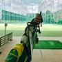 ゴルフ練習からのガレ…