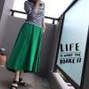 バナリパ六本木店閉店と緑のフレアースカートと出逢ったのでしたの画像