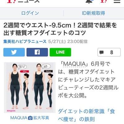 Yahoo!ニュースに糖質オフダイエット!の記事に添付されている画像