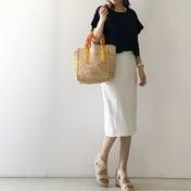 【coordinate】大人っぽく穿けるGUマリンスカート
