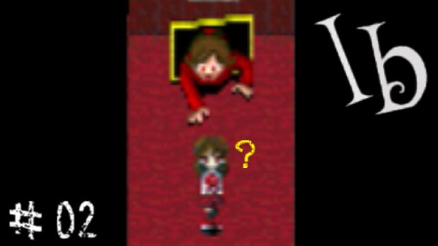 Ib 赤い女って ホラーゲームの定番だよね とりあえず