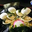 潮騒の湯(茨城県大洗町)by 大洗はまぐりラーメン 900円の記事より