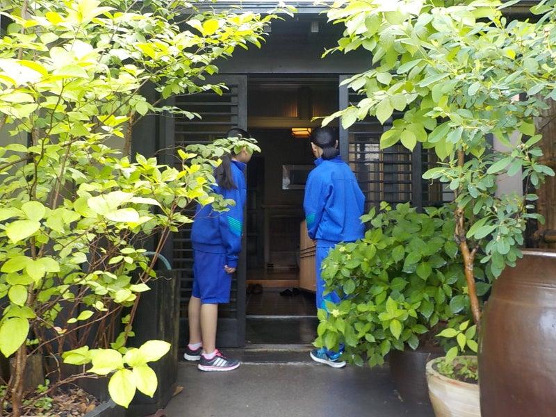 職場体験 訪問(京屋)