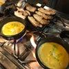 夜中見なきゃ良かった写真シリーズ。グツグツカレーつけ麺メイキング写真撮ってみた。の画像