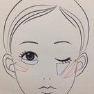 骨格分析メイクのポイント(顔に張りがある人は眉とチークが重要!)の記事より