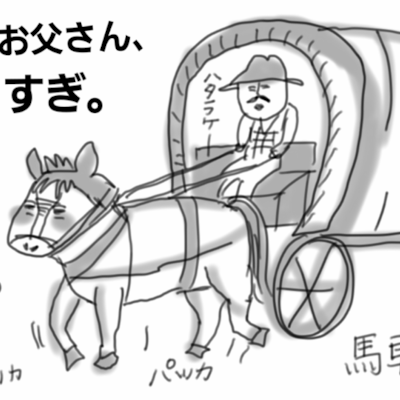 馬車馬の弊害。の記事に添付されている画像