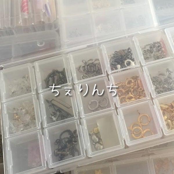 キャンドゥ&セリアで売っているケースを使って分類。
