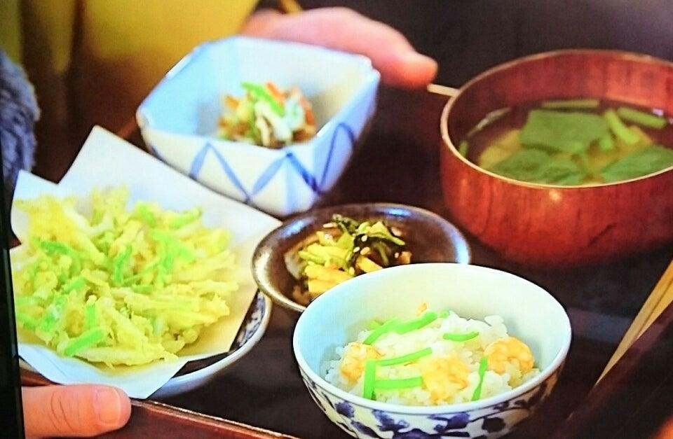 澪の献立帖~第3回「三つ葉のおひたし」料理レシピ~ 2017年6月3日掲載 NHKホームページより