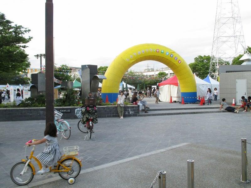 綾瀬東口【菖蒲祭り&世界の食広場】ビアガーデン1
