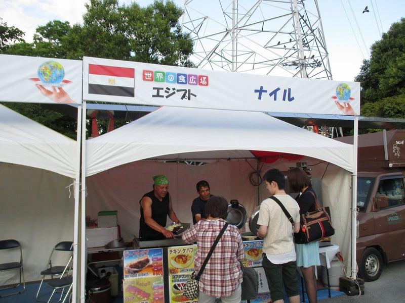 綾瀬東口【菖蒲祭り&世界の食広場】ビアガーデン5