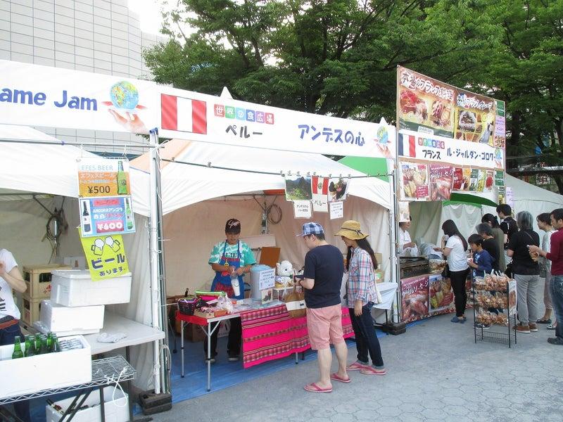 綾瀬東口【菖蒲祭り&世界の食広場】ビアガーデン19