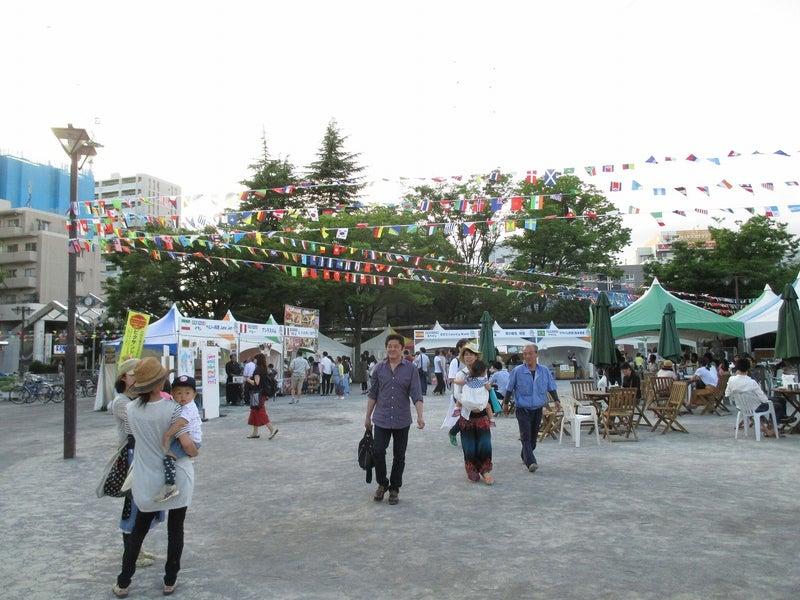 綾瀬東口【菖蒲祭り&世界の食広場】ビアガーデン2