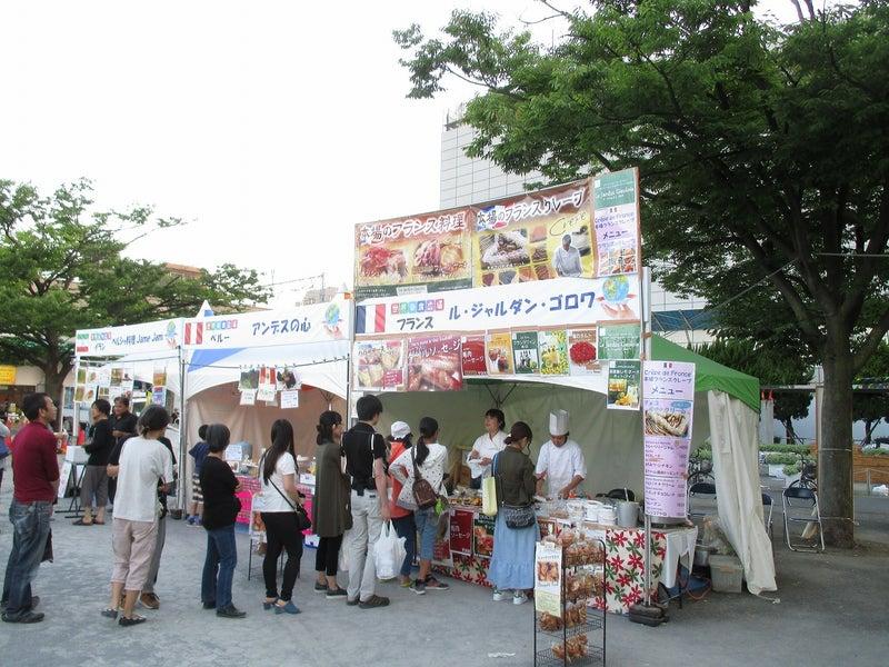 綾瀬東口【菖蒲祭り&世界の食広場】ビアガーデン10