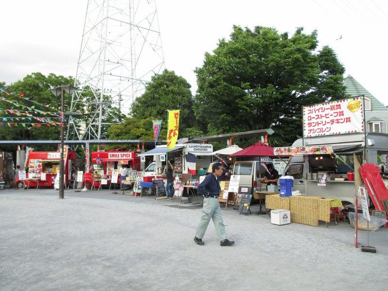 綾瀬東口【菖蒲祭り&世界の食広場】ビアガーデン3