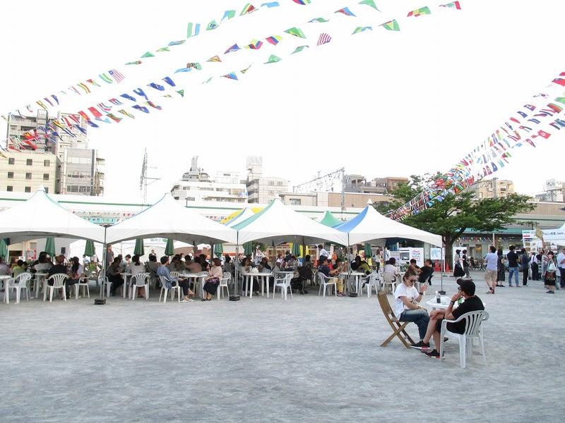 綾瀬東口【菖蒲祭り&世界の食広場】ビアガーデン6