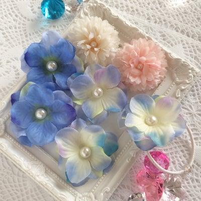 100均の造花でヘアクリップ♪の記事に添付されている画像