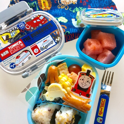 息子の幼稚園お弁当 たこさんウインナー ころころコロッケの記事に添付されている画像