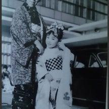 日本舞踊の初舞台は6…