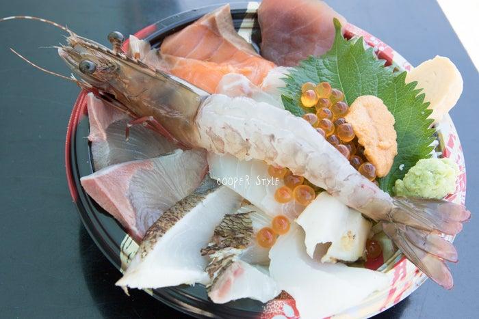 淡路島でテラス席ペット可の海鮮丼 うおたけ鮮魚店
