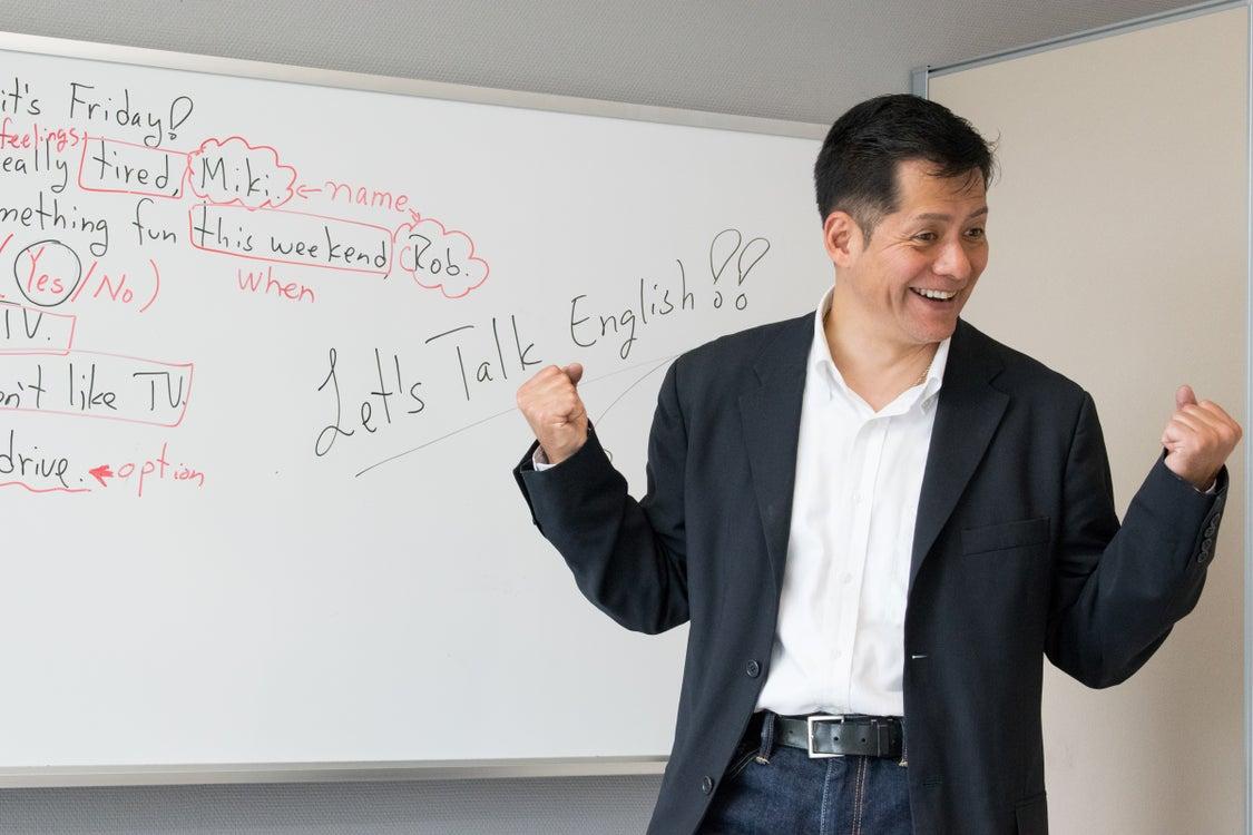 新大阪の初心者マンツーマン英会話『アロハ・ABC・スタジオ』のスクール案内の記事より