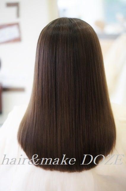 この時期の髪のうねり、膨らみ、クセ毛に縮毛矯正はいかかですか?