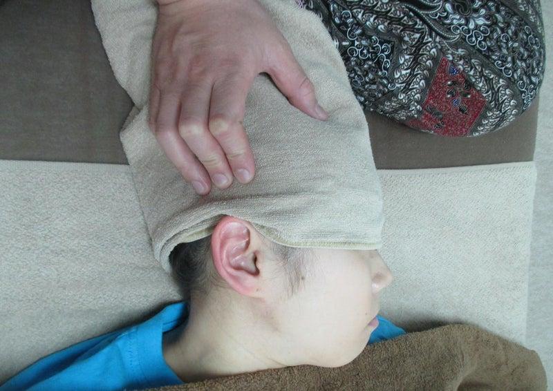 片頭痛(緊張型)アイヘッドセラピー&耳もみコース1