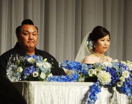「佐渡ヶ嶽部屋・琴勇輝の結婚式 ありがとう・決意」
