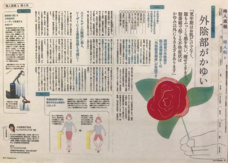 モナリザタッチが婦人画報に | 女医ブログ|麗ビューティー ...