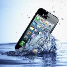 iPhoneが水没し…
