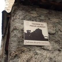 岩壁の上のチャペル