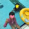 友達とプールと帰り道の紫陽花。の画像