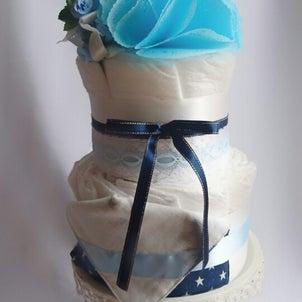 Diapercakeを囲んで☆の画像