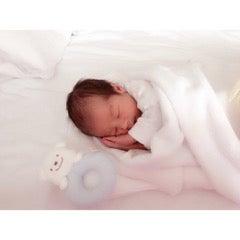 天使のような写真付きで、出産報告いただきました!