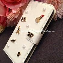 手帳型で上品♡ココシャネル風 iPhoneケース♡の記事に添付されている画像