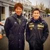 元自転車選手の佐藤琢磨選手 インディ500優勝の画像