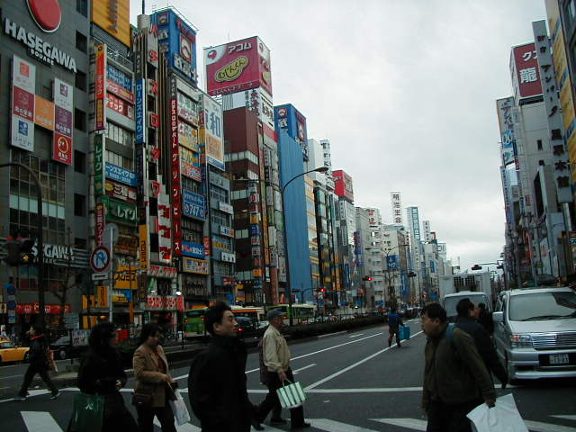 2002年の新宿の風景   東京雑想 -Tokyo Imagine-