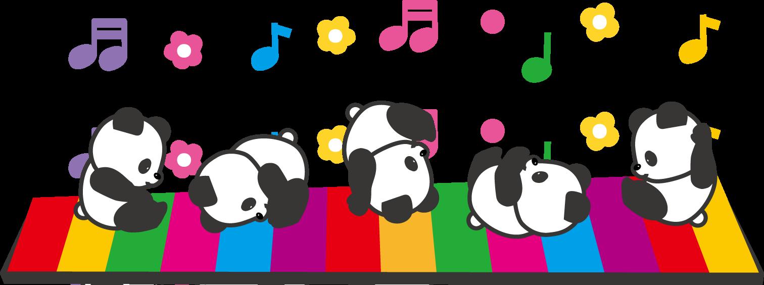 手あそび歌『パンダのあかちゃん』創作♪~祝!赤ちゃんパンダ誕生