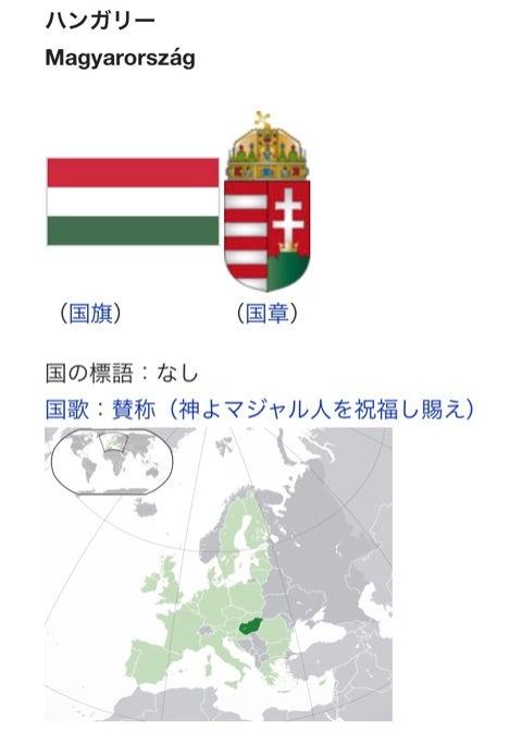 ハンガリー大使館にて、大使閣下...