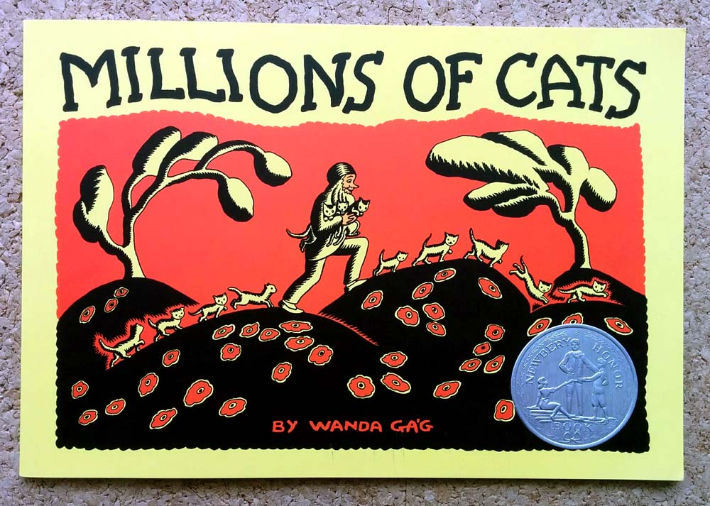 英語絵本★100まんびきのねこ「MILLIONS OF CATS」 | 神戸市垂水区 ...