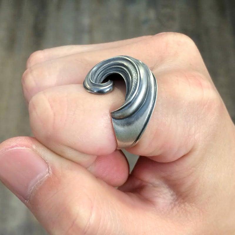 dualflow デュアルフロウ リング 黄金比 ring 鱗 羽