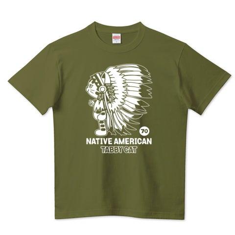ネイティブアメリカン(インディアン) トラ猫