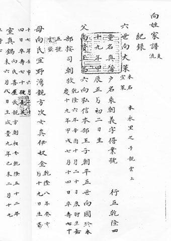 日本の系図と琉球の家譜2 | 本部...
