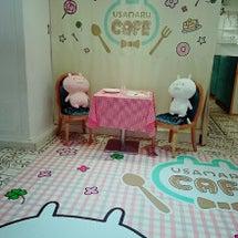 念願のうさまるカフェ…
