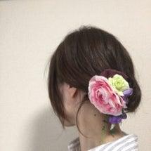 夏色コサージュ♡